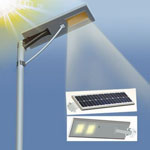 30w integrated solar street light new rural construction billboard