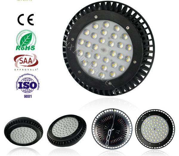 UFO LED High bay light with radiator fan